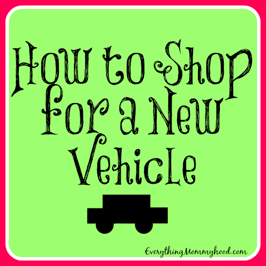 How to Shop for a New Vehicle