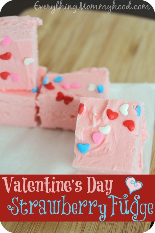 Strawberry Fudge - Valentine's Day