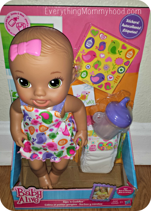 Baby Alive Sips N Cuddles Review Playlikehasbro