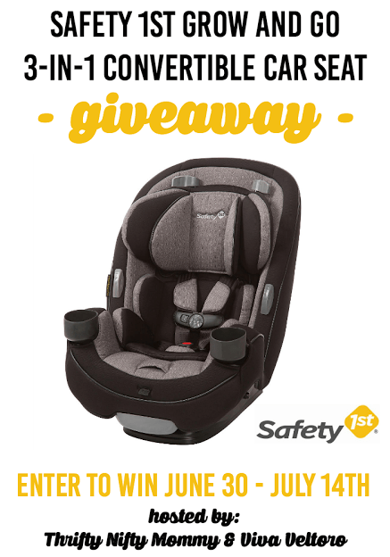 safety 1st grow and go 3 in 1 convertible car seat giveaway ends 7 14 everything mommyhood. Black Bedroom Furniture Sets. Home Design Ideas