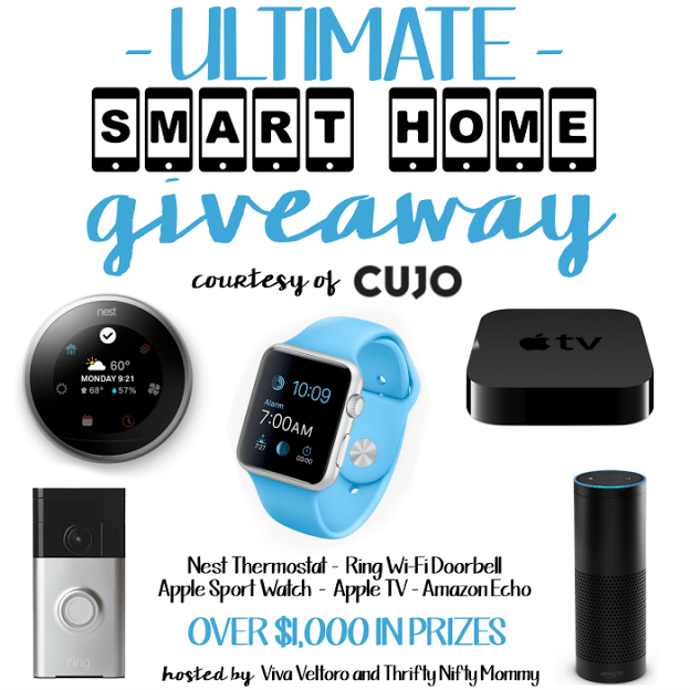 Smart Home Giveaway - Nest Thermostat, Apple Watch, Apple TV