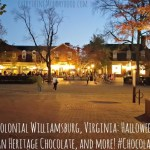 Colonial Williamsburg, Virginia: Halloween, American Heritage Chocolate, and more! #ChocolateHistory