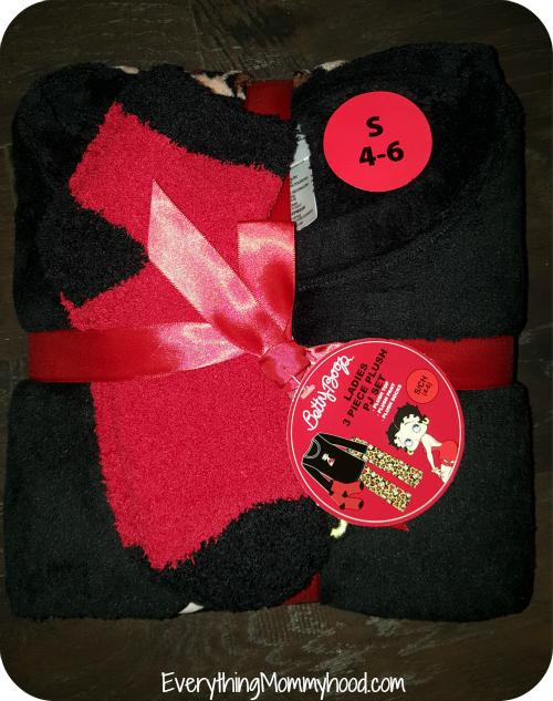 betty boop 3-piece pajamas & women's