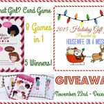 Who's That Girl Card Game Giveaway – 5 Winners – ends 12/6