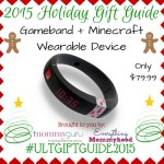 Holiday Gift Guide: Gameband for Minecraft #UltGiftGuide2015