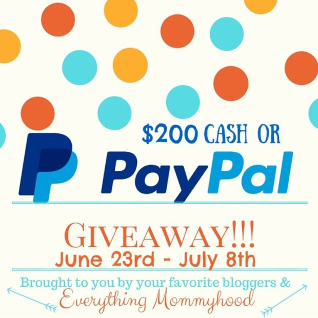 200PayPal Cash Giveaway
