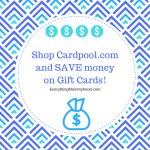 Cardpool – Save Money on Gift Cards & a $100 Amazon Gift Card Giveaway – ends 3/19 #CardOffer317