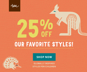 a47ce84376c33 Girls and Boys - Babies and Kids - Tea Collection Sale 25% Off Promo ...