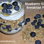 Recipe: Blueberry Granola Breakfast Parfait #FreshFromFlorida #IC