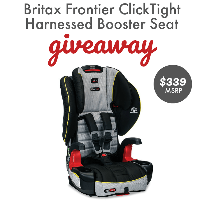Car Seat Safety Week Britax Frontier Giveaway Ends 10 3