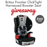 Car Seat Safety Week: Britax Frontier Giveaway – ends 10/3