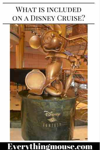 What is included on a Disney Cruise_