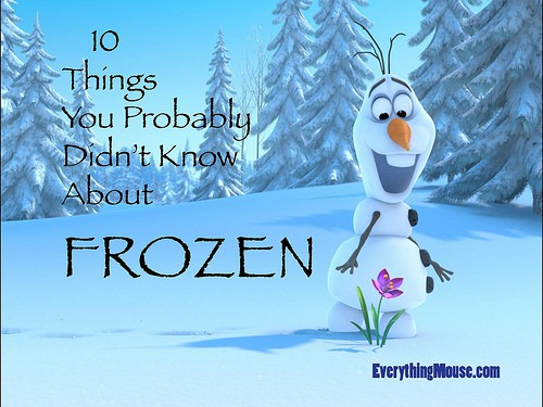 10 Things You Probably Didn't Know About Disney Frozen10 ...