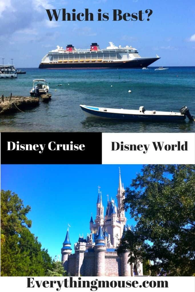 Disney Cruise v Disney World