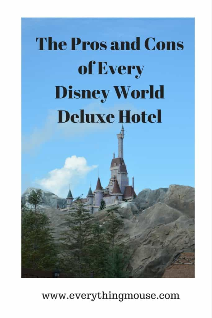 The Pros and Cons of Every Disney World Deluxe Hotel