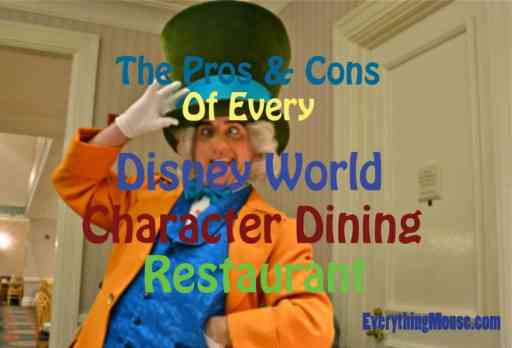 Disney World Character Dining