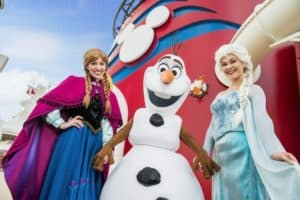 Disney Cruise Anna and Elsa