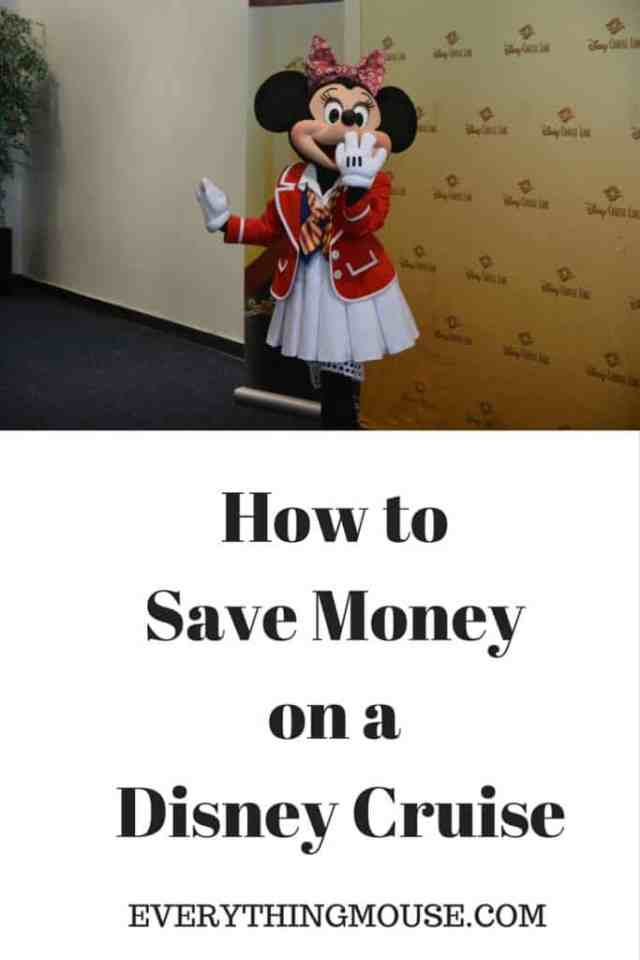 How to Save Money on Disney Cruises