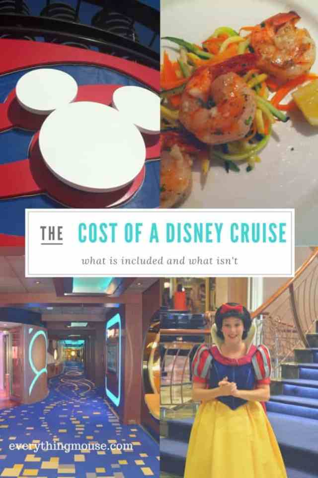 cost of a disney cruise