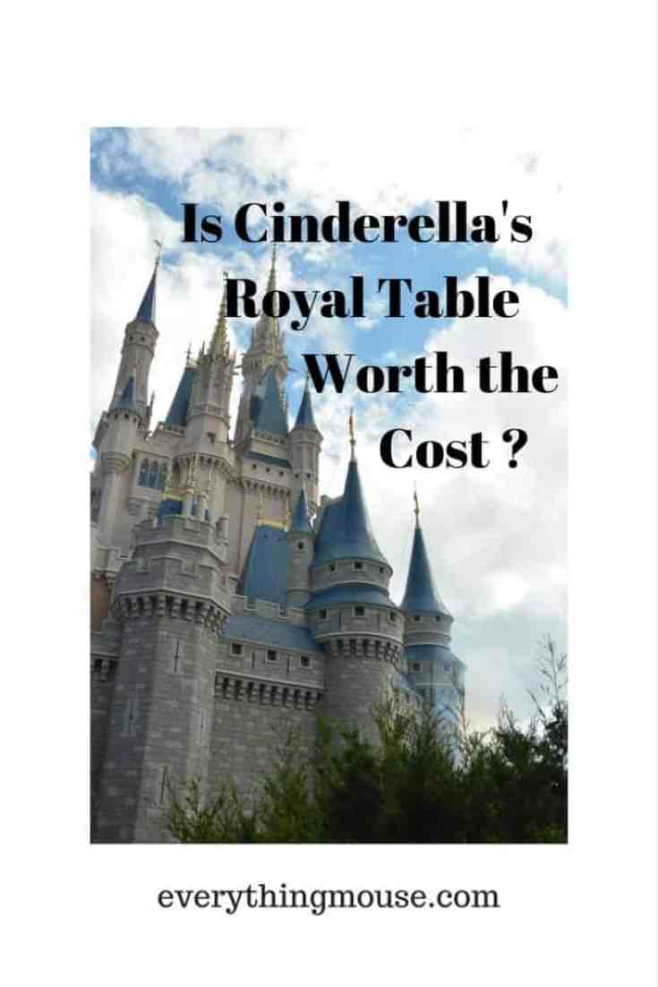 Is Cinderella's Royal Table Worth the