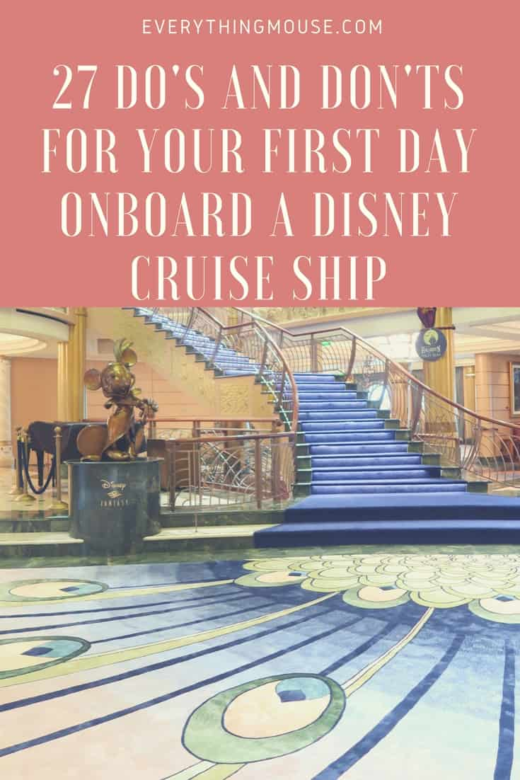 Disneycruisedosanddonts