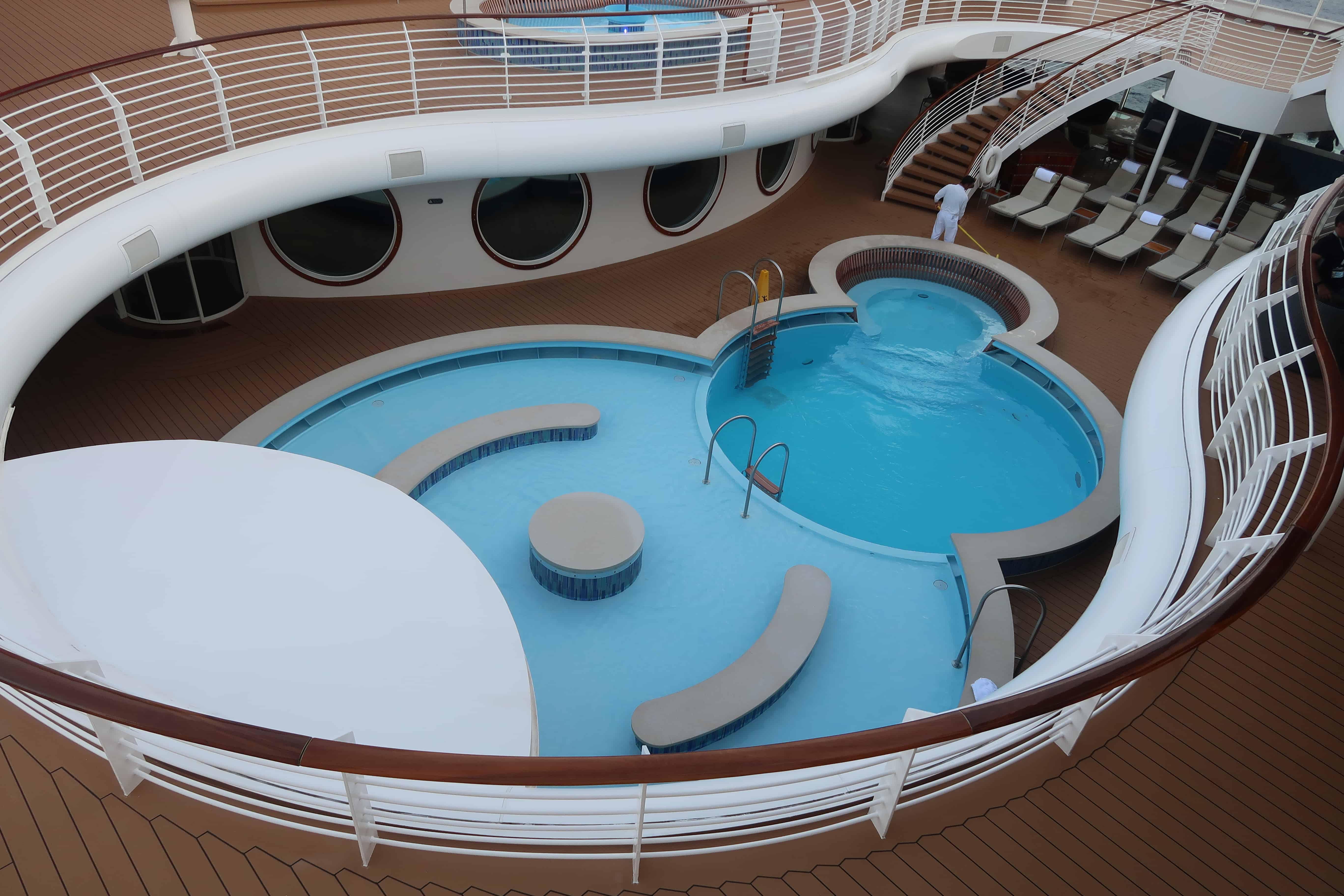 disney cruise swimming pool
