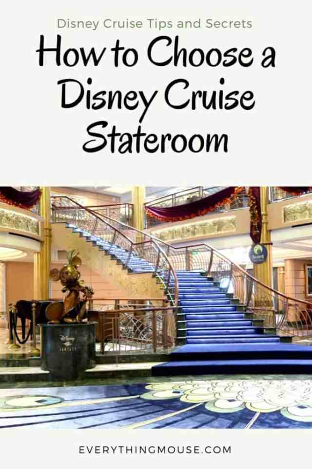 How To Choose A Disney Cruise Stateroom