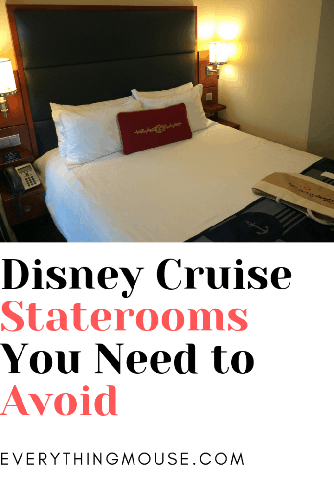 Disney Cruise Staterooms You Need to Avoid