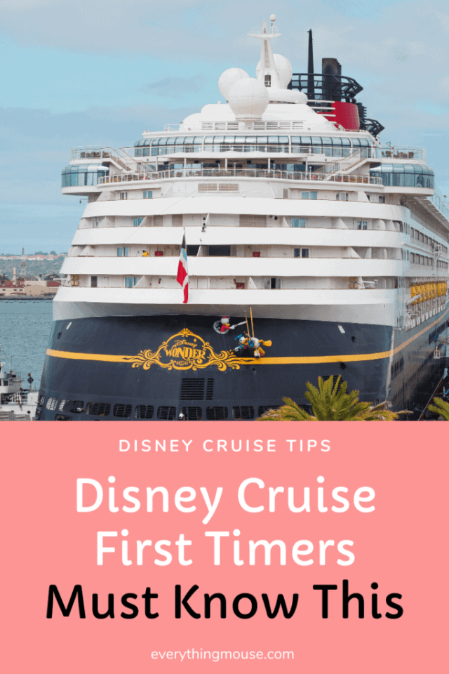Disney Cruise First Timers Must Know This