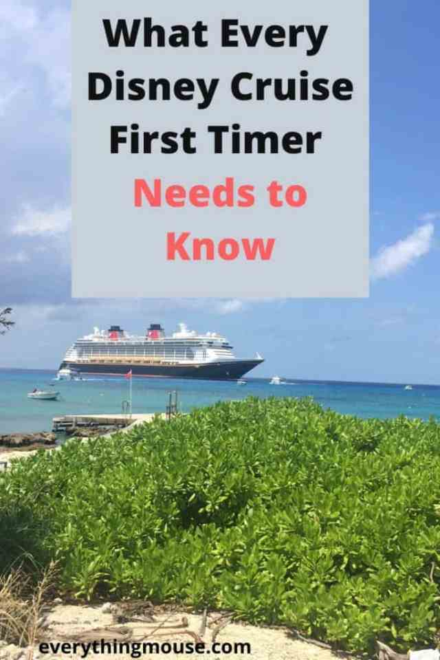 What Every First Timer Needs to Know About a Disney Cruise