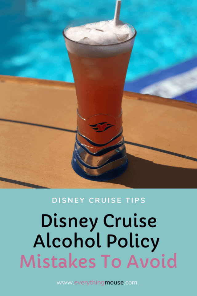 Disney Cruise Alcohol Policy
