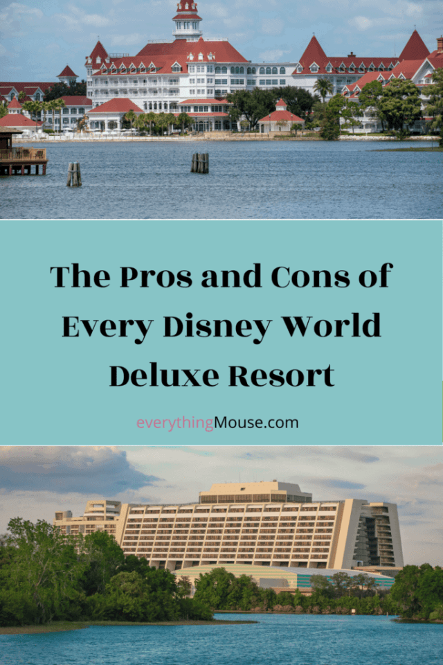 The Pros and Cons of Every Disney World Deluxe Resort