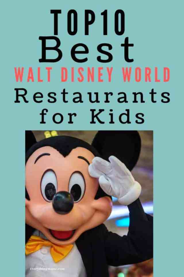 bestwaltdisneyworldrestaurantsforkids