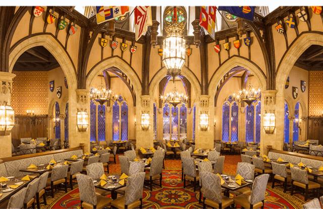 best magic kingdom restaurants cinderella royal table