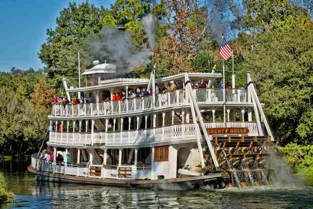 Disney magic Kingdom liberty square boat - What Are The Main Rides In Magic Kingdom?