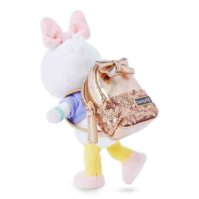 disney nuimos loungefly rose gold backpack