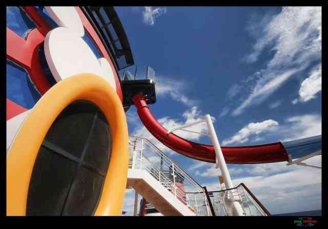 disney cruise aquadunk slide