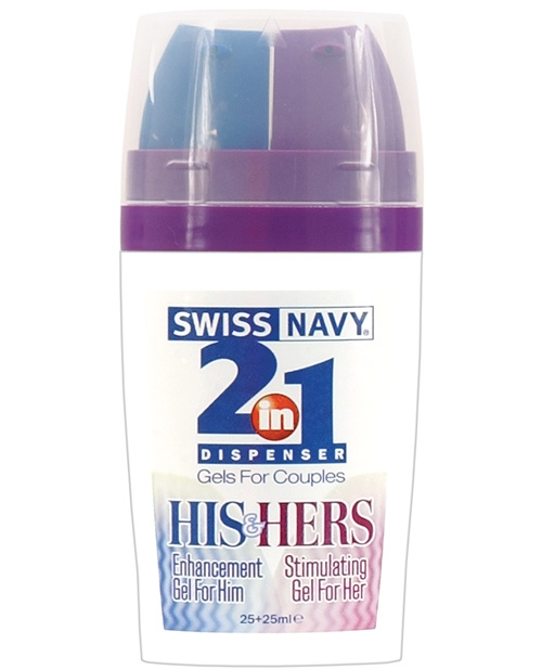 2 in 1 His and Hers Lube