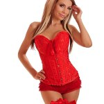 Red-Corset