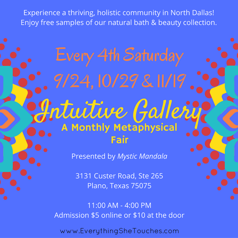 Mystic Mandala, Intuitive Gallery, Vijay Warman, Everything She Touches, Dhana Yoga Center, holistic festival, metaphysical fair, holistic community