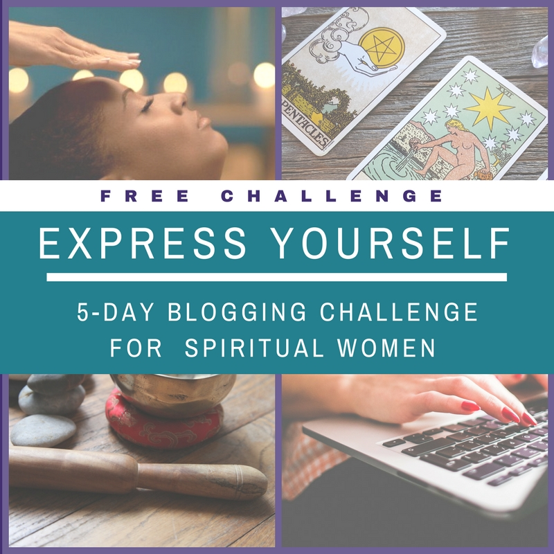 FREE Express Yourself 5-Day Blogging Challenge