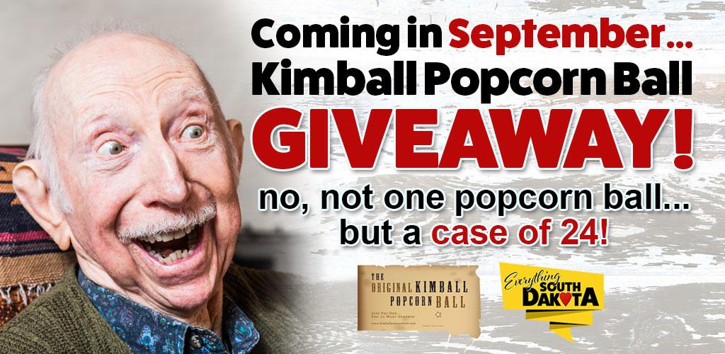 Stay Tuned! Kimball Popcorn Ball Giveaway!