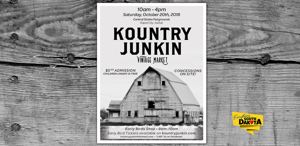 Kountry Junkin' Vintage Market, Rapid City