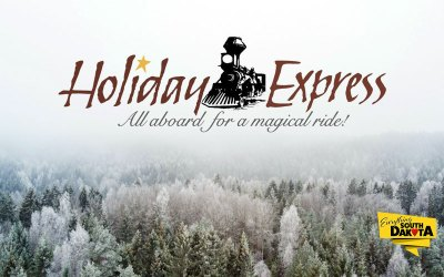 Holiday Express on the 1880 Train