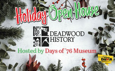 Deadwood History's Annual Holiday Open House
