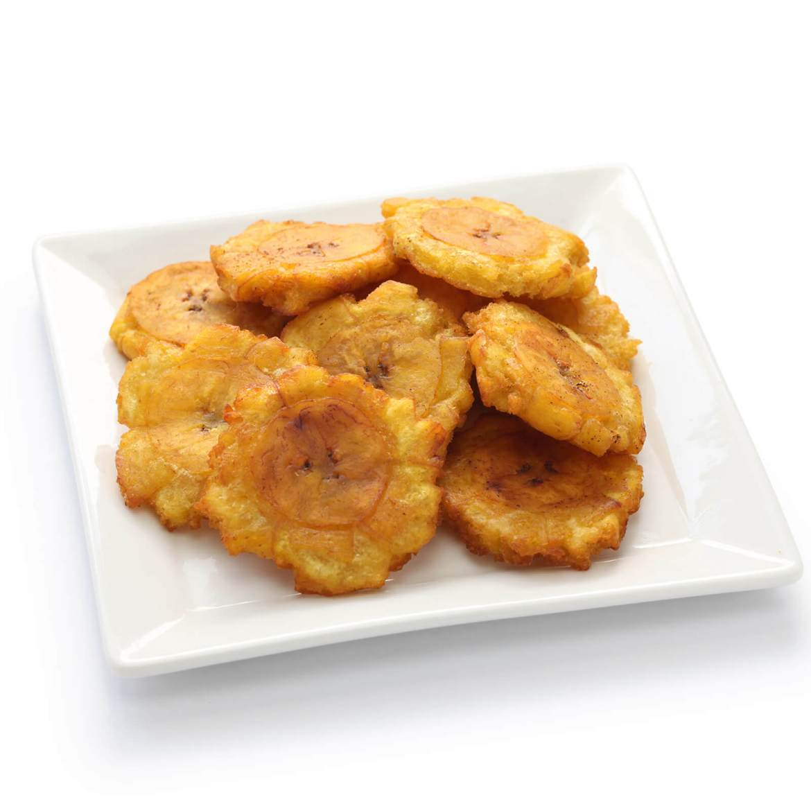 fried plantains (tostones) are one of the 21 Best Vegan Christmas Dinner Recipes