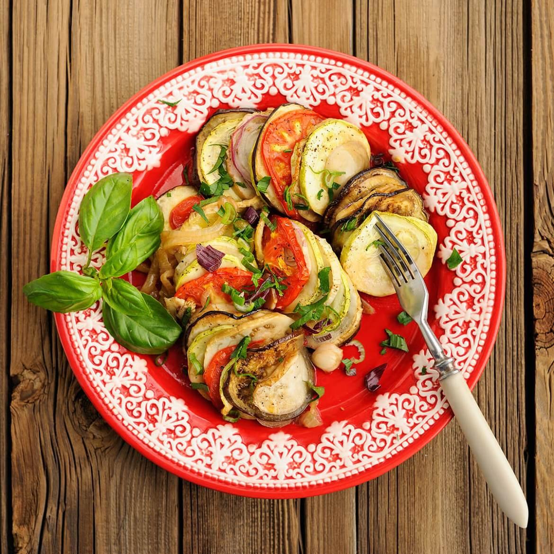 vegetable tian is one of the 21 Best Vegan Christmas Dinner Recipes
