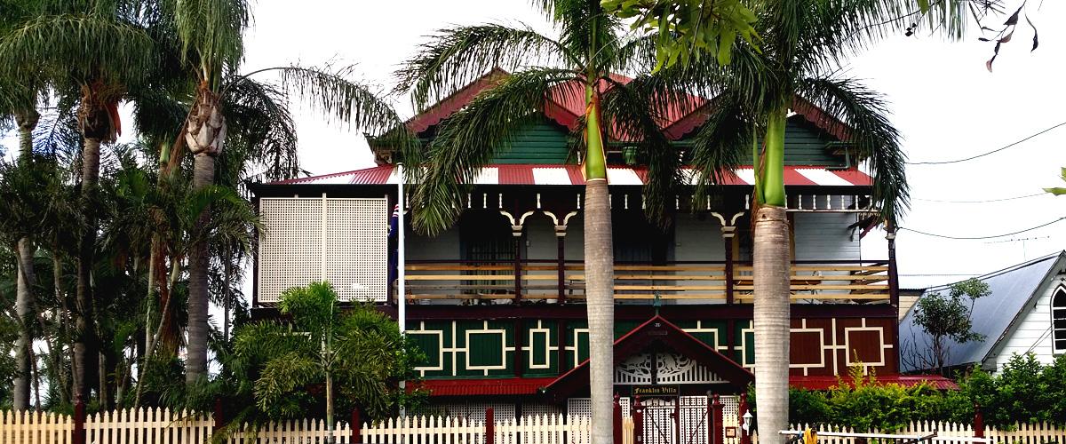 Franklin Villa Brisbane History
