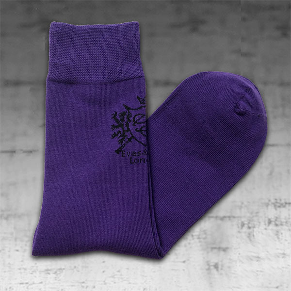 Purple Socks 1