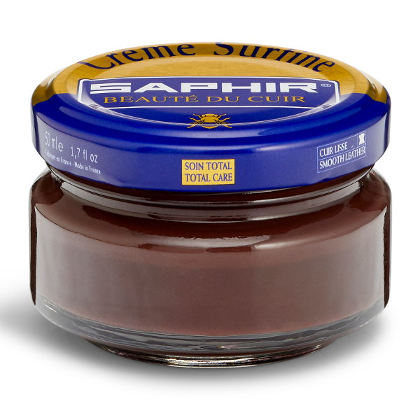 Creme Surfine Pommadier Protective Leather Wax – Tobacco Brown